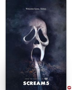 "AlternativeMoviePosters.com on Instagram: ""🎨@creepyduckdesign Welcome home, Sidney!... ""Scream 5"" AMP submitted by Colm Geoghegan @creepyduckdesign - ➡️ SUBMIT YOUR POSTERS (LINK IN…"" Horror Posters, Horror Icons, Sci Fi Horror, Scream Tv Series, Scream Movie, Scary Movies, Horror Movies, Ghostface Scream, Movie Synopsis"