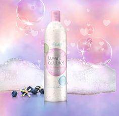 Oriflame Love Bubbles Bubble Bath - limited edition Valentine 2015 Inscríbete whatsapp 5585508725 erikagrimaldo@hotmail.com patrocinadora 1128929 #Skin #belleza #natural