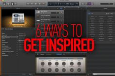 Inspiration is essential to musicians, but it can be an elusive and fickle beast. Rob Boffard brings you his six tips to make sure your creative well doesn't run dry…