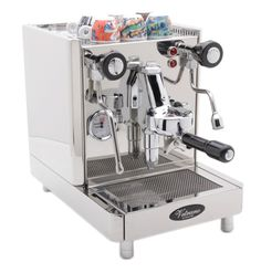 Quickmill Vetrano is an HX plumb-only machine.    http://www.chriscoffee.com/products/home/espresso/vetranonew