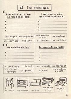 exercices de vocabulaire cp 1961 exercices de vocabulaire vocabulaire et le vocabulaire. Black Bedroom Furniture Sets. Home Design Ideas