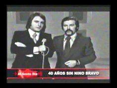 Acompáñenos a rendir un merecido homenaje a Nino Bravo, tras 40 años de la trágica y súbita partida que enlutó el corazón de la música en español. Emitido en el programa Al Sexto Día de Panamericana Televisión el 09/02/2013