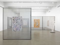 Johannes VanDerBeek<br /> <i>Early Hand</i>, 2014<br /> Zach Feuer Gallery, New York, NY<br /> Installation view<br />