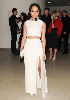Zoe Kravitz 2014 Guggenheim International Gala Dinner Made Possible by Dior  Photo: BFA NYC