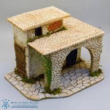 Resultado de imagen para case presepe palestinese Clay Houses, Miniature Houses, Little Houses, Mojito, Crafts To Do, Xmas, Christmas, Cribs, Nativity
