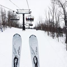 From MEC: The view of anticipation.  by @paullinaaas @bluemtnresort #live4snow #getoutside #discoveron #wanderlust