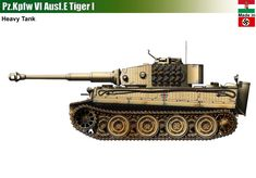 Hungarian Tiger I Heavy Tank Austro Hungarian, Engin, Armored Vehicles, Military Art, Battleship, Line Drawing, Military Vehicles, Techno, World War