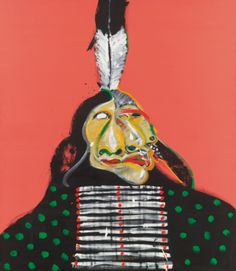 Fritz Scholder, 1937-2005 | Lot | Sotheby's  Looks like a Picasso