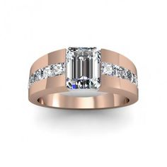 Beautiful Rings for your jewelry collection Diamond Rings, Diamond Engagement Rings, Diamond Jewelry, Jewelry Rings, Jewellery, Emerald Rings, Emerald Jewelry, Emerald Cut, Bijou Box