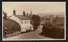 Sidbury, Devon, England. c1925. Some of my ancestors were from Sidbury - if you're researching the surnames Willsman, Wellsman or Welsman, do get in touch! esjones <at> btopenworld.com