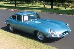Jaguar E-type coupe.  My first car...