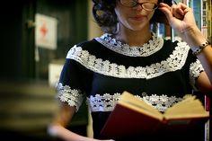 Grosgrain: Embellish Knit Month: Day 21