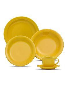 Oxford Porcelanas - Floreal Yellow 20 peças