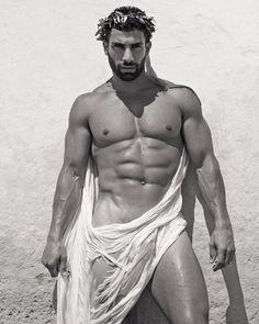 A GREEK GOD ??!!!