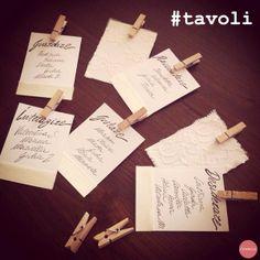 Wedding tutorial: TABLEAU DE MARIAGE