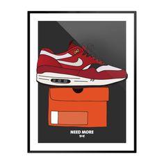 "sneakersunday: ""NEED MORE // Air Max 1 - Urawa 2004 needmore.egotrips.de """