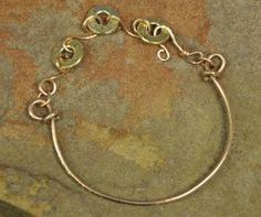 Ammo Link and Bangle Bracelet in Bronze$20 - Rustic Passion Jewelry & Crafts
