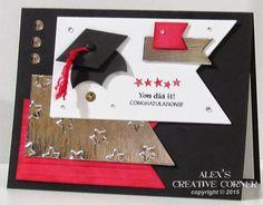 Alex's Creative Corner: You Did it! Card