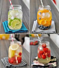healthy summer drinks.