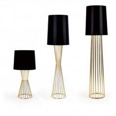 TULIP F PINCH 145H BLACK | Spence & Lyda || #lighting #light #lamp