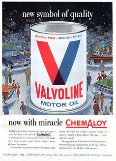 1960 Valvoline Motor Oil Advertising Sports Car Illustrated November 1960 | Flickr - Photo Sharing!