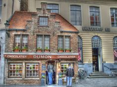 10 things you didn't know about Bruges - lots of chocolate!!