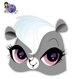 Free #Printable Halloween Masks-Littlest Pet Shop mask and LOTS more!