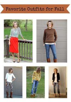 ONE little MOMMA: Favorite Fall Outfits from 2012
