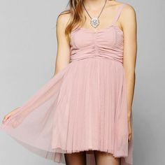 b5f3be2630 UrbanOutfitters Tulle Ballerenia Dress Pink Tulle Ballerina Dress by Band  Of Gypsies sold at Urban Outfitters. Full lined.