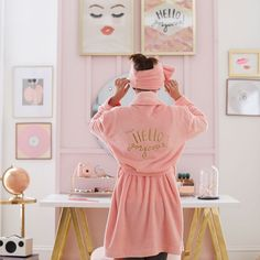 Channel nothing but the most blissed-out vibes in our supersoft plush robe. Our collaboration with Benefit Cosmetics brings the bold beauty brand's glam style to your space. Dessert Table Birthday, Restoration Hardware Bedding, Buy Bed, Cute Plush, Pottery Barn Teen, Pbteen, Sit Back And Relax, Benefit Cosmetics, Linen Bedding