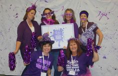 RELAY FOR LIFE - Paint Your World Purple - Photo Booth - Debbie Buchanan