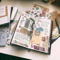 Planner Decoration Ideas for Bullet journals and Agendas. Bullet Journal Inspo, Bullet Journal Layout, Journal Pages, Bullet Journals, Filofax Personal, Journal Inspiration, Journal Ideas, Collage Making, Planner Decorating