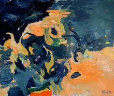"Saatchi Online Artist: Ilian Savkov; Oil, 2010, Painting ""Night Landscape"" #art"