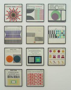 Joseph Albers designed album covers.