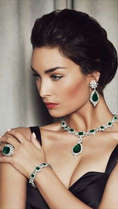 # Diamonds & Emerald
