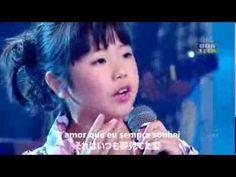 メリッサ・クニヨシ 8歳 Um anjo veio me falar 日本語歌詞