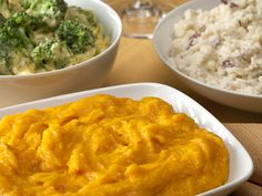 Food Network Channel, Food Network Recipes, Fall Table, Mashed Potatoes, Macaroni And Cheese, Sausage, Side Dishes, Roast, Curry