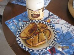 French toast at home with the best pure maple syrup