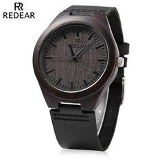 Llévalo por solo $53,500.Redear SJ 1448 - 4 de madera de cuarzo reloj de los hombres.