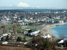 Oak Harbor, Washington (Whidbey Island). This is the town that I lived in, home of NAS Whidbey.