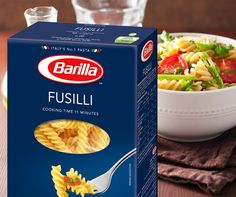 Barilla Fusilli Meet one of the greatest Italians of all time – the Fusilli. Born in the southern region of Italy, but raised all over the world, the Fusilli is a legend that has tempted and satisfied pasta aficionados for centuries. What makes the Fusilli a real charmer is its unique 'fuso' shape, with its grooves specialised in capturing and holding on to sauces to make every bite truly flavourful.