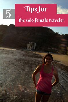 5 tips for staying safe as a solo female traveler #travel #traveltips #solotravel