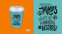 Series of 60 compositions of lettering + illustration made for an ad campaign of Leão, the Coca-Cola branch of tea in Brazil.