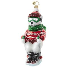 Polar Express Ornament by Christopher Radko $33.60