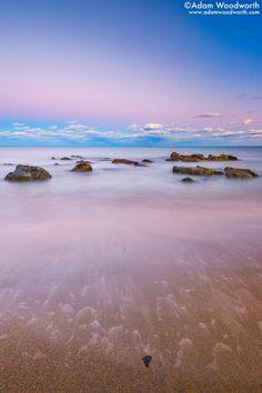 Sunset at Pirates Cove  Rye, New Hampshire