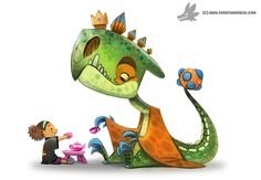 Imaginary Friend by Piper Thibodeau for Sketch Dailies