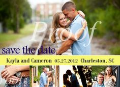 Save the Date Magnet  Custom Photo Design by mbk318 on Etsy, $10.00