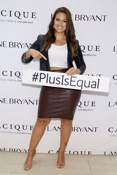 75284a6195ae4 Ashley Graham Photos Photos - Model Ashley Graham attends the Lane Bryant  launch of the