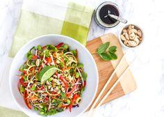 Vegan Zucchini Noodle Pad Thai