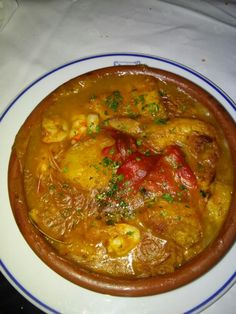 Mixed fish cassarole
